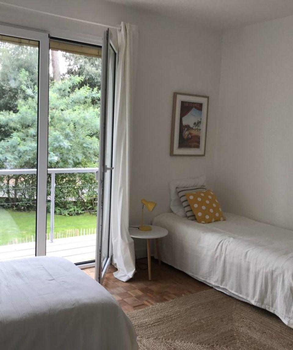 chambre triple villa Arcachon