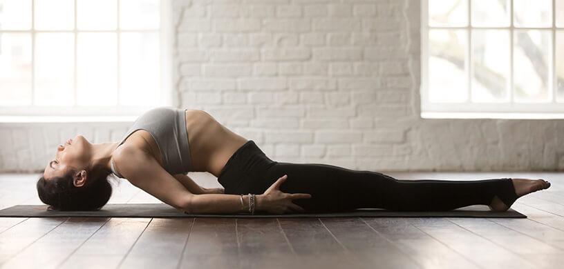 Les 5 éléments et le yoga : l'espace