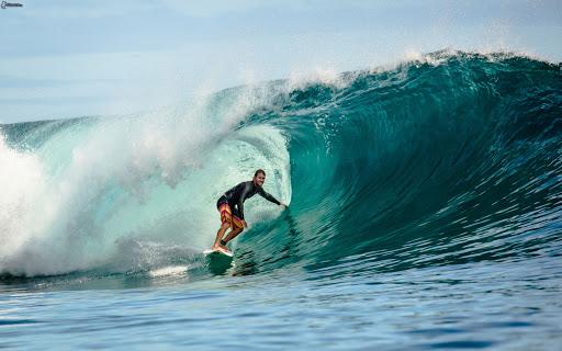 homme surf