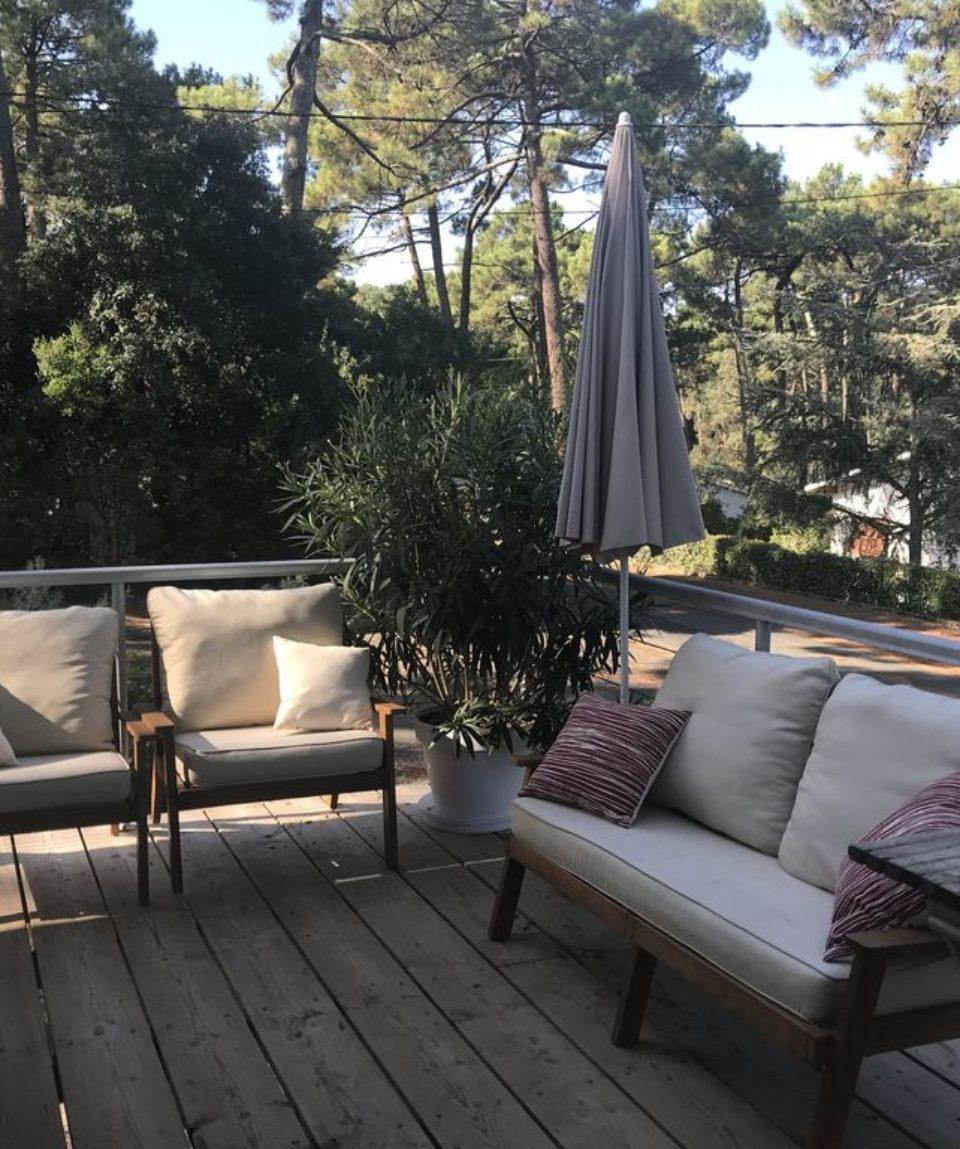 terrasse villa Arcachon