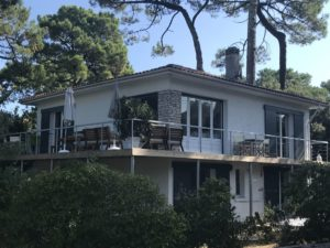 Belle villa Arcachon retraite de yoga en France