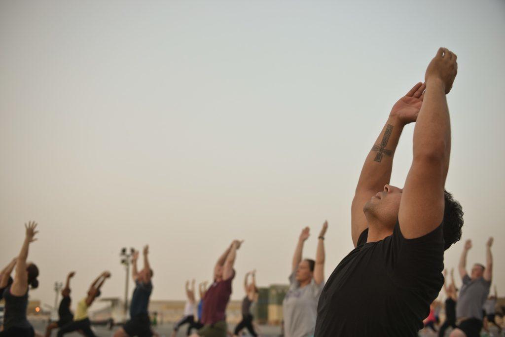 groupe de yogi
