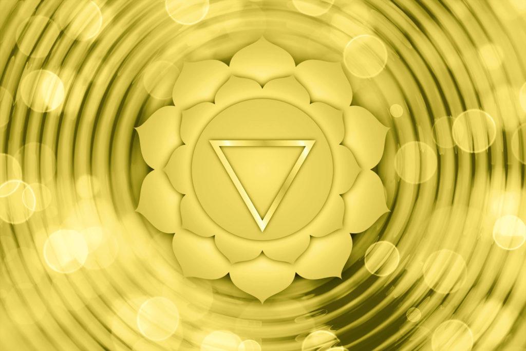 Représentation du chakra plexus solaire pour aider à comprendre comment ouvrir ses chakras et leurs bienfaits
