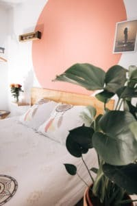 chambre double à la Yoga & Surf House Alma libre