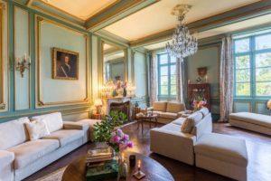 Salon du Château d'Estrac