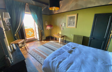 Chambre double au Château du Beaujolais