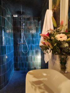 Salle de bain au Château du Beaujolais