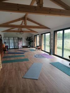 salle de yoga Airial des pins