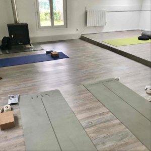 salle de la retraite de yoga ayurveda au pays basque