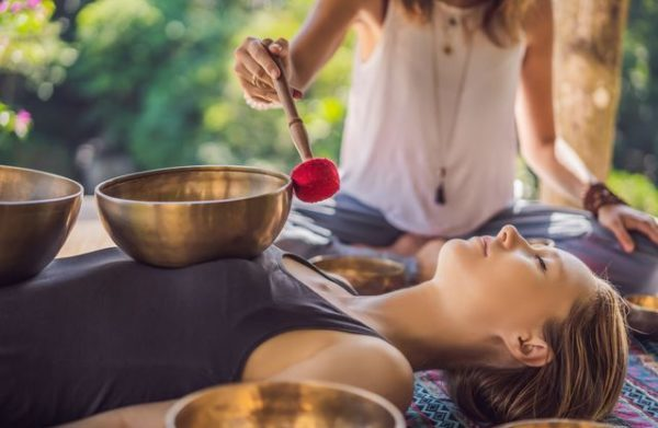 sonothérapie et yoga