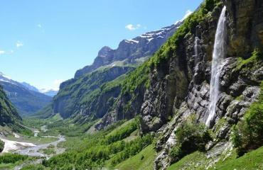 vue montagne Alpes
